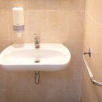 Ванная комната в отеле Пирс (корпус 2)